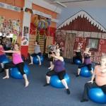 Těhotenské cvičení 2